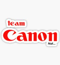 nats canon tee... Sticker