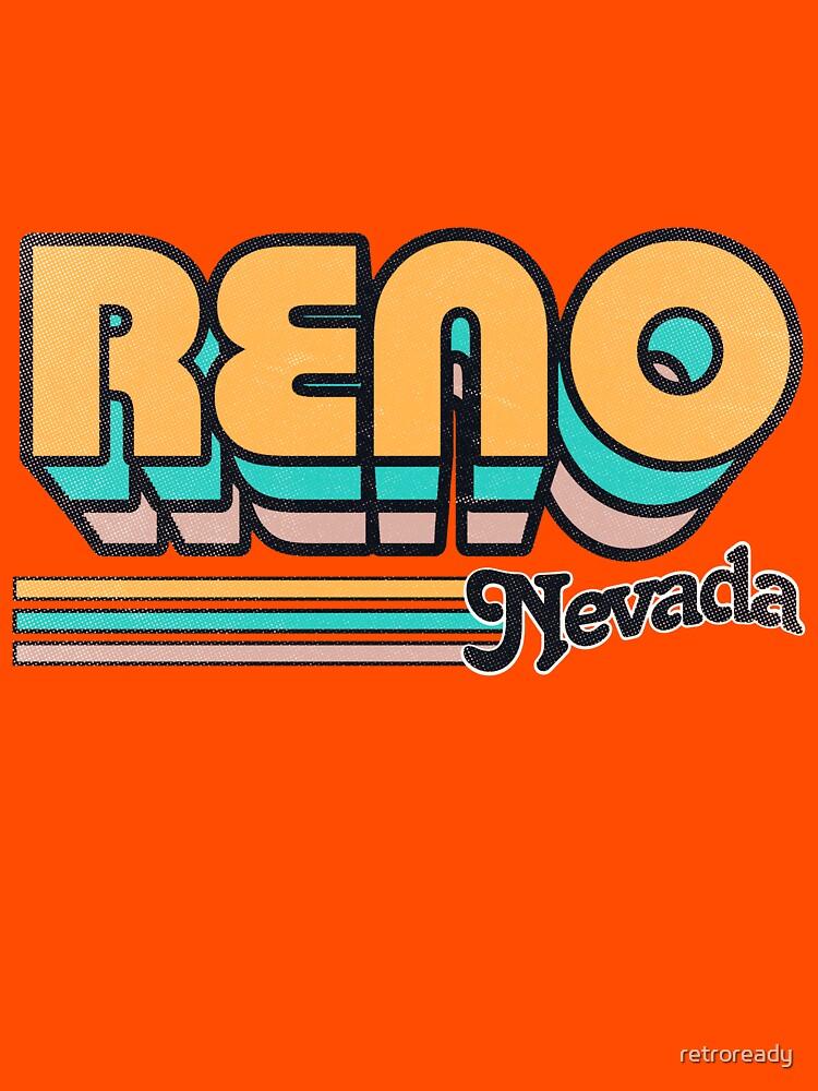 Reno, NV   City Stripes by retroready