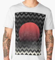 Sun in Waves - abstract Men's Premium T-Shirt