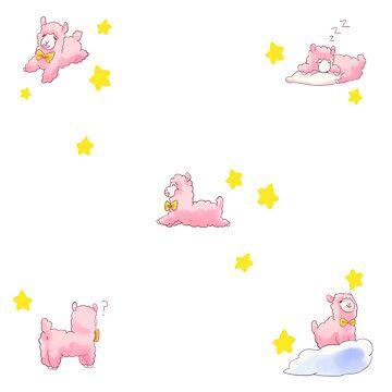 Pink Alpaga Dream by Reikiwie