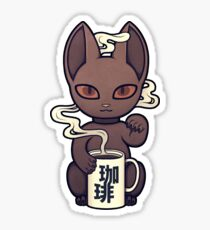 Wrong Neko: Coffee Sticker