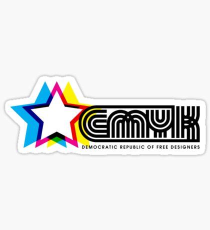CMYK Republic Sticker