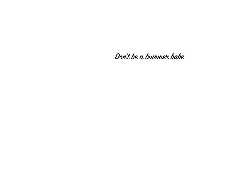 Summer Bummer by cicimarsh