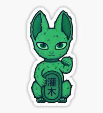 Wrong Neko: Topiary Sticker