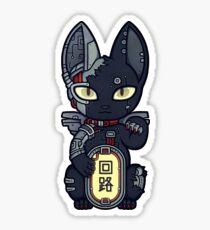 Wrong Neko: Cyberpunk Sticker