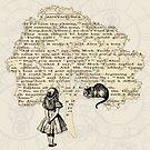«Libro de Alicia en el País de las Maravillas» de maryedenoa