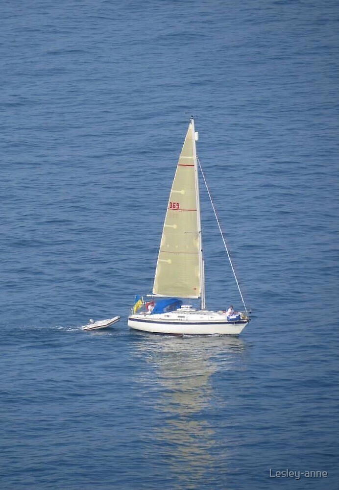 Sailing by Lesley-anne