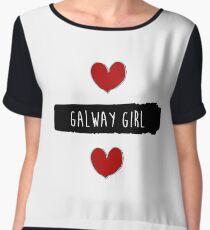 ed sheeran galway girl - Music Women's Chiffon Top