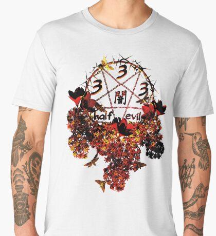 summoning circle pentagram - 333 half evil Men's Premium T-Shirt