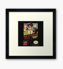 it crowd Framed Print