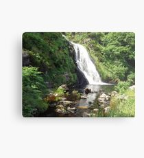 Assaranca Waterfall, Ireland  Metal Print