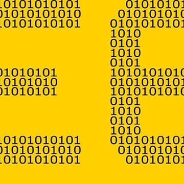 Geek binary code computer freaks cool programmer by superdazzle