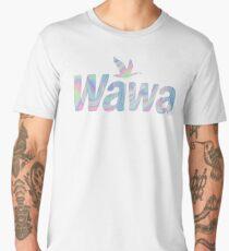 WAWA IRIDECSENT Men's Premium T-Shirt