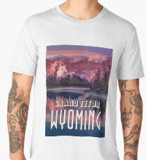 Grand Teton Park - Wyoming Men's Premium T-Shirt