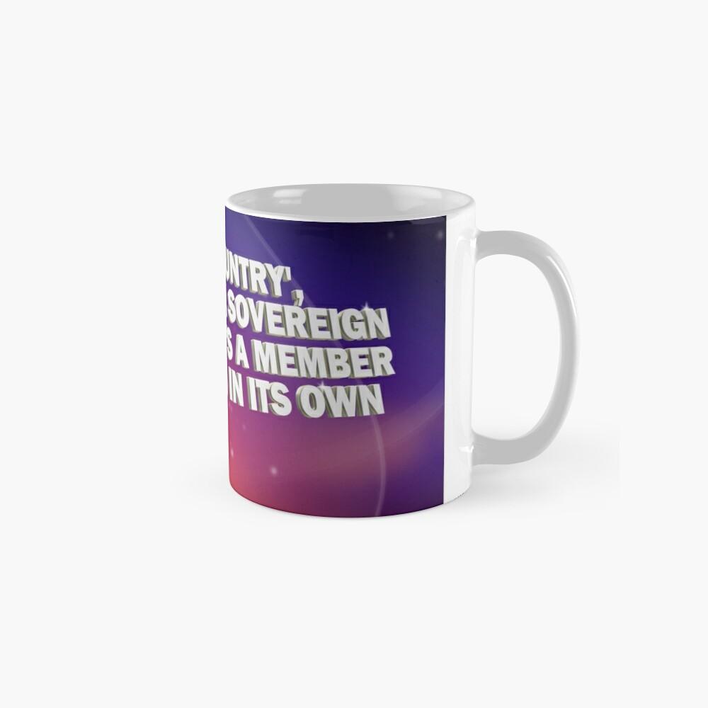 """And By Country..."" - Pointless Mug Mug"