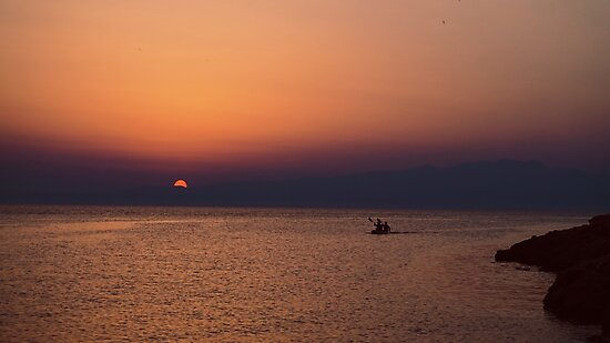Sunset, Greece by dion897