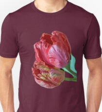 Two Red Tulips Vector  T-Shirt