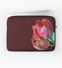 Two Red Tulips Vector  Laptop Sleeve
