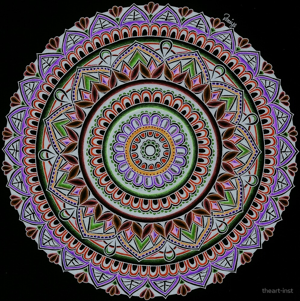 Mandala 28 by theart-inst