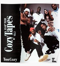Asap Mob - Cozy Tapes vol 2 : Too Cozy Poster