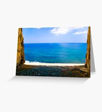 fort view Greeting Card