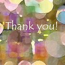 THANK YOU by Betsy  Seeton