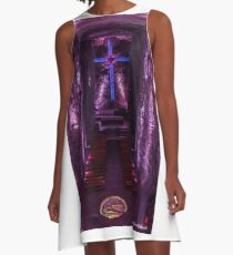 Salt Cathedral in Colombia A-Line Dress