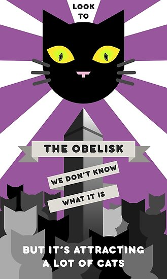 Look to the Obelisk by SirLadyKnight