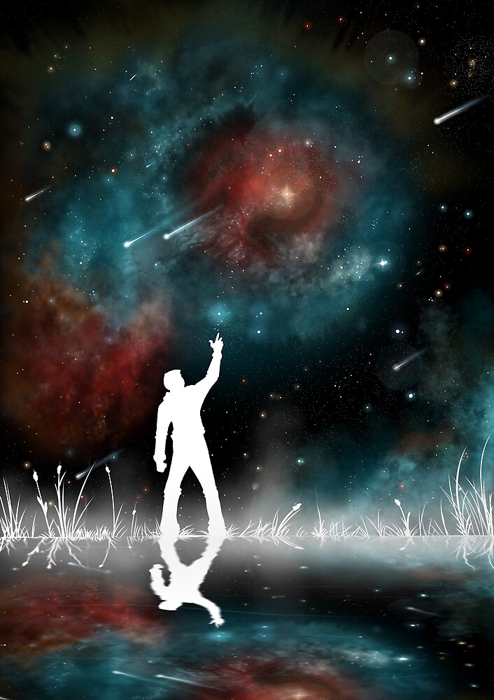Star Gazer by drewjamesart