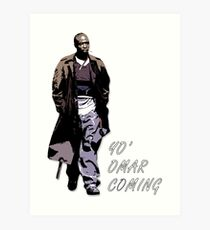 Omar Little Art Print