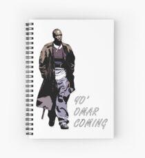 Omar Little Spiral Notebook