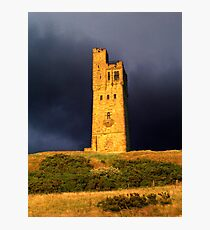 Castle Hill - Huddersfield West Yorkshire Photographic Print