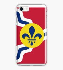 Flag of St. Louis, Missouri iPhone Case/Skin
