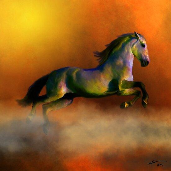 Horse by Leodis