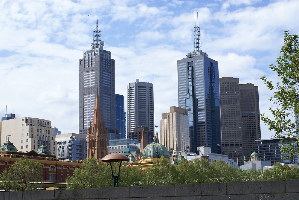 Melbourne by Day by Ajmdc