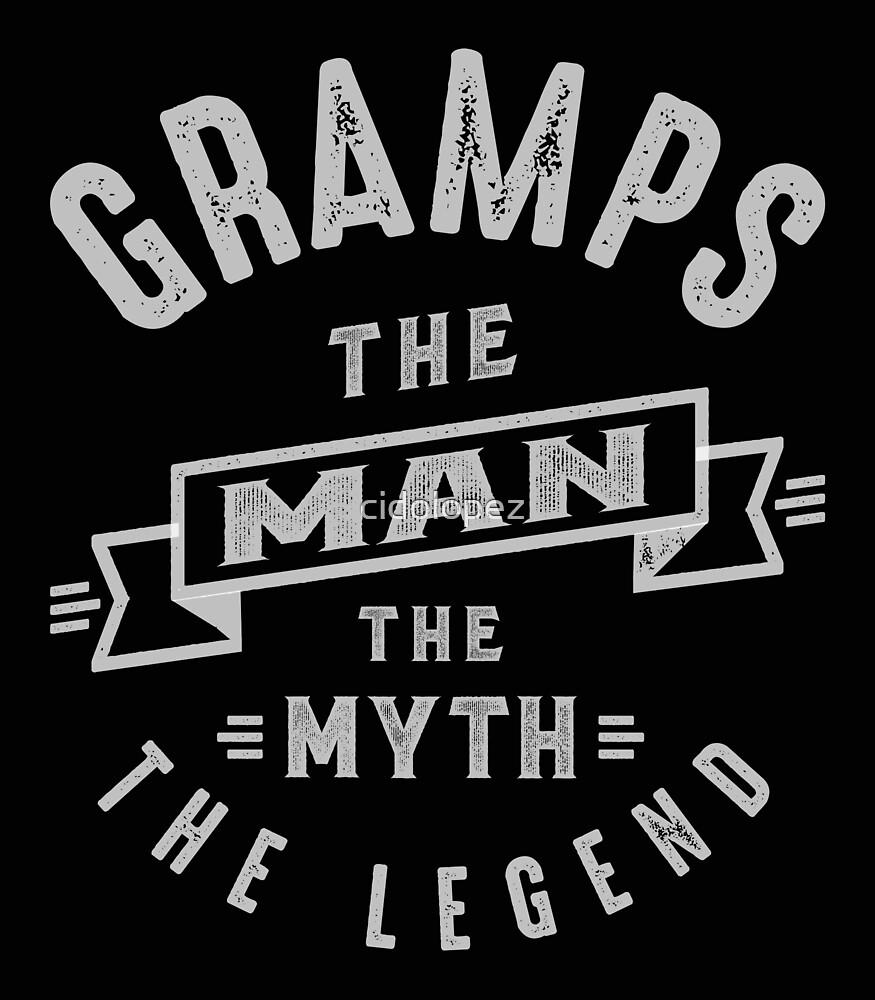 Gramps Man Myth Legend by cidolopez