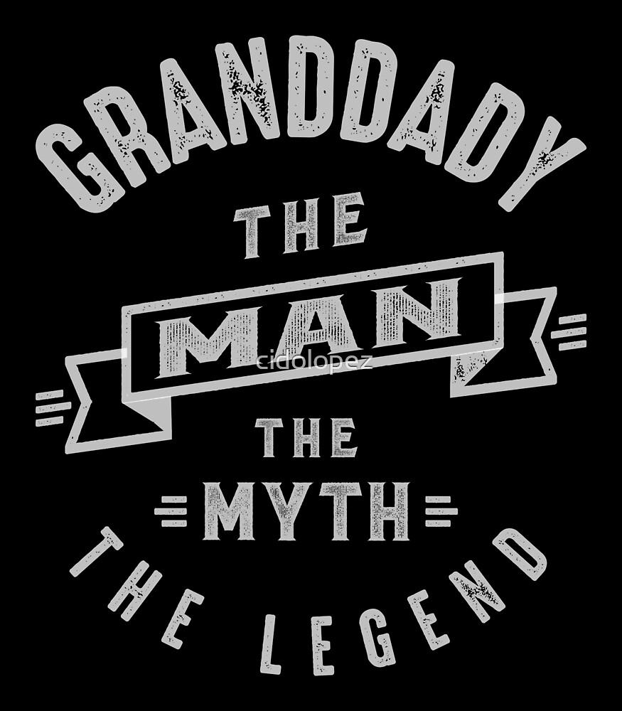 Granddady Man Myth Legend by cidolopez