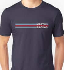 Camiseta unisex Martini Racing horizontal stripe