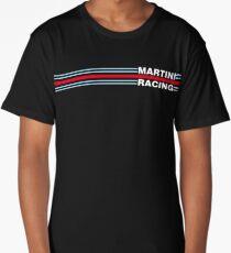 Martini Racing horizontal stripe Long T-Shirt