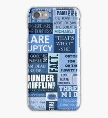 The Office - Quotes Graphic iPhone Case/Skin