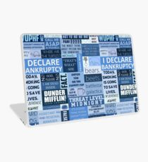 The Office - Quotes Graphic Laptop Skin
