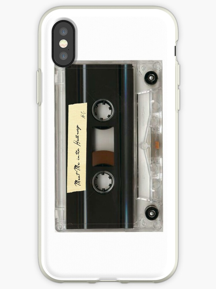 meet me in the hallway hs cassette case by allysdesigns
