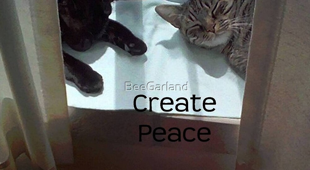 Create Peace by BeeGarland