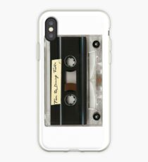 from the dining table hs cassette tape case iPhone Case