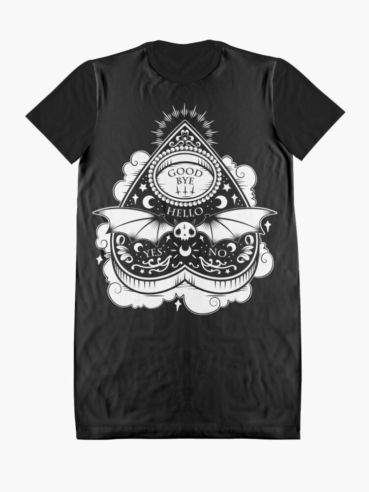 Alternate view of OUIJA Horror Graphic T-Shirt Dress