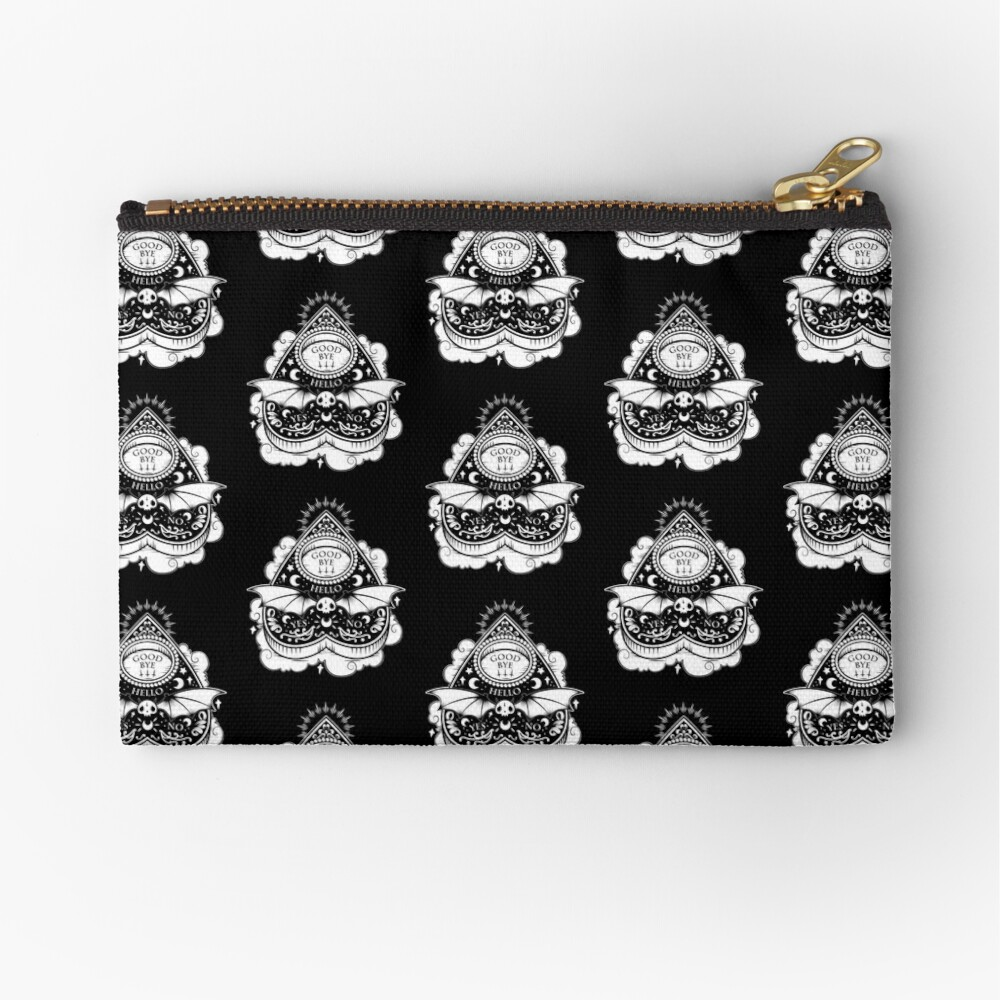 OUIJA Horror Zipper Pouch
