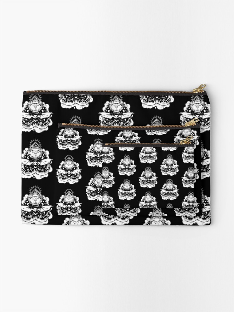 Alternate view of OUIJA Horror Zipper Pouch