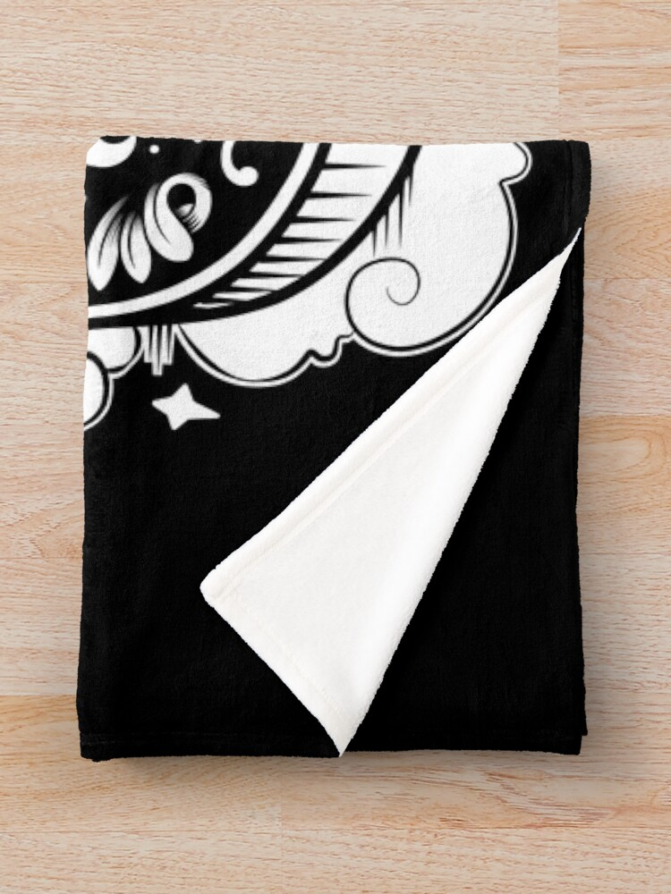 Alternate view of OUIJA Horror Throw Blanket