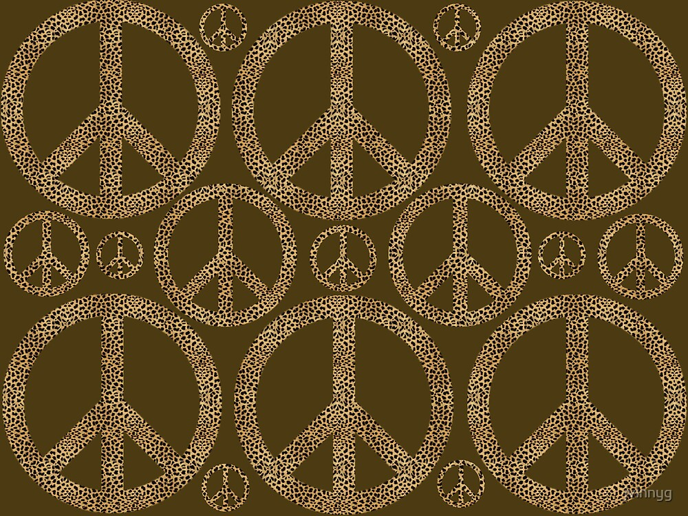 animal peace by jvinnyg