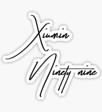 xiumin (minseok) exordium shirt Sticker